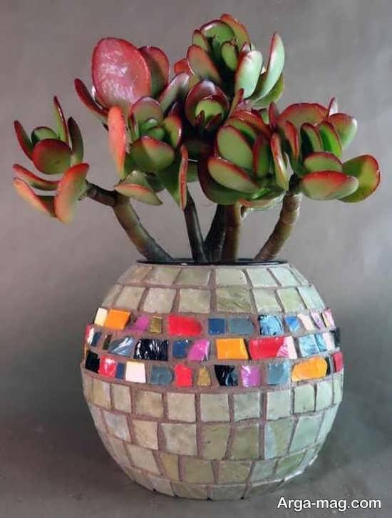 تزیینات شکیل گلدان