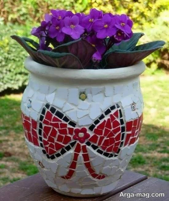 تزیینات جذاب گلدان