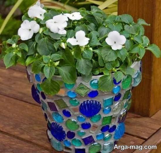 تصاویری از دیزاین گلدان