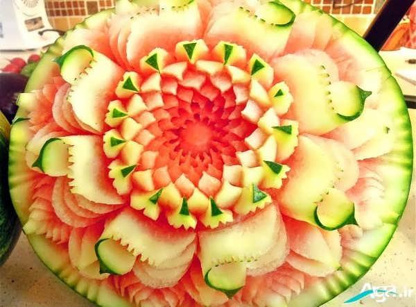 حکاکی هندوانه