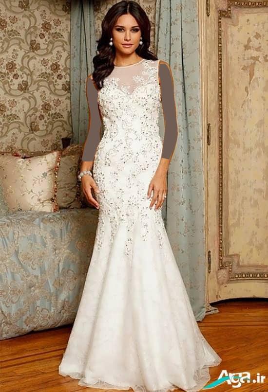 لباس عروس مدل ماهی شیک
