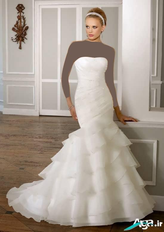 لباس عروس های مدل ماهی