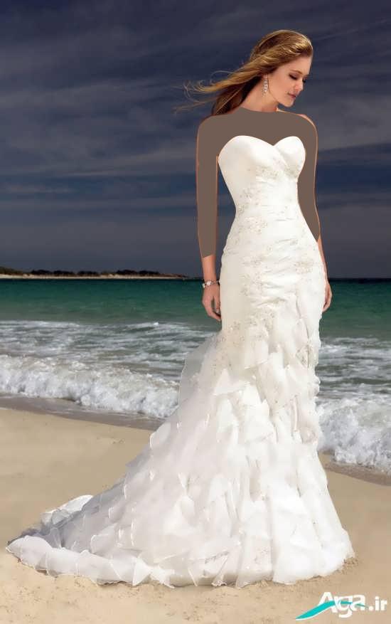 عروس در کنار دریا