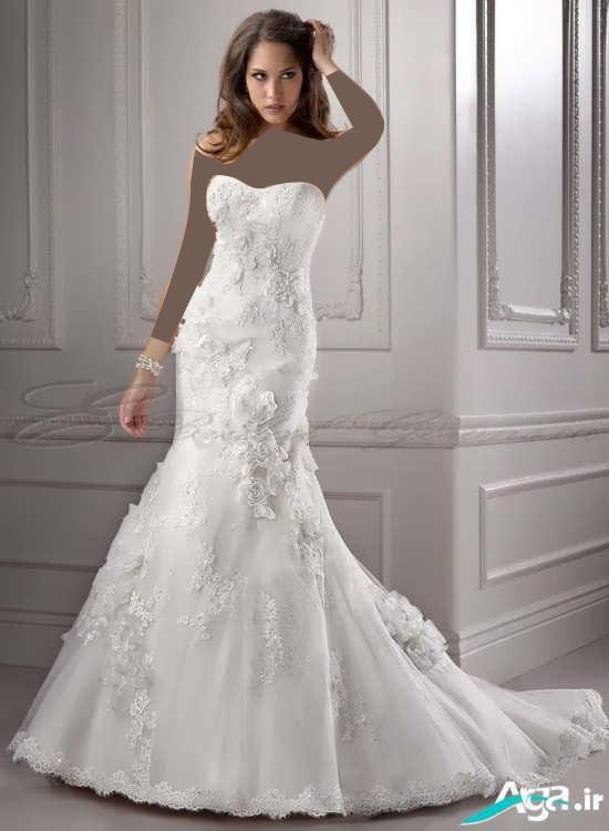 زیباترین لباس عروس مدل ماهی