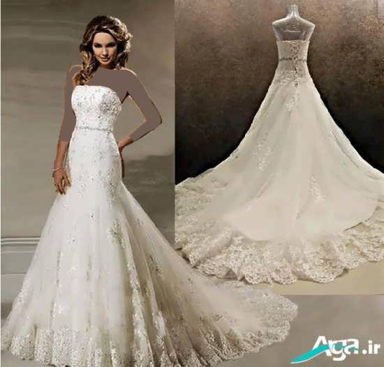 طرح زیبای مدل لباس عروس