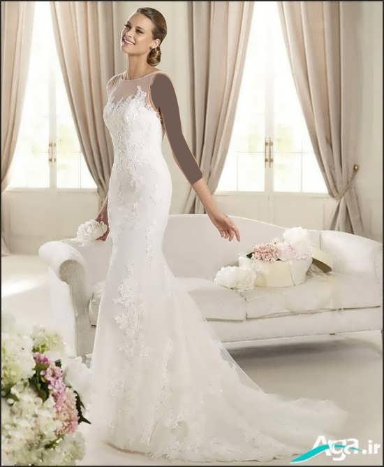 لباس عروس مدل ماهی 2016