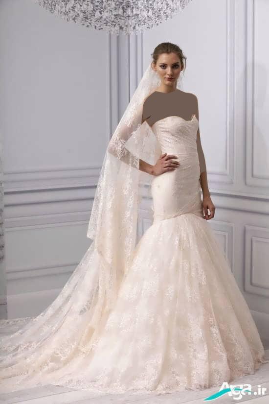 لباس عروس بسیار جدید