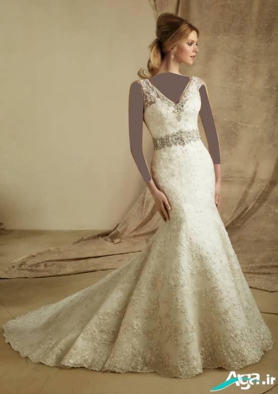 لباس عروس بسیار زیبا و جذاب