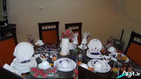 میز ناهار خوری عروس
