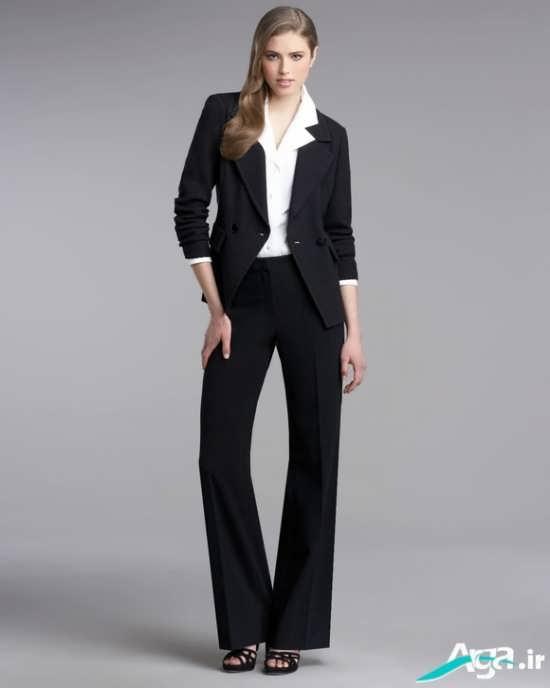 مدل یقه کت زنانه رسمی و انگلیسی
