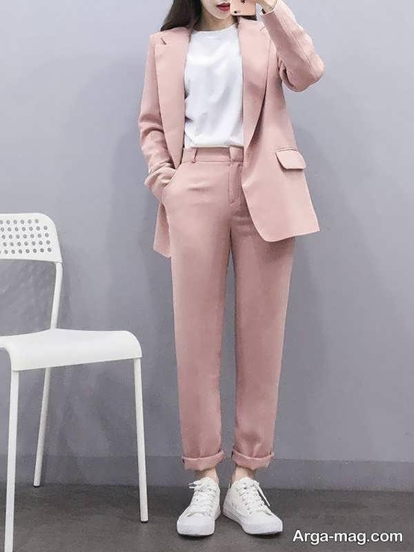 مدل کت شلوار زنانه جدید