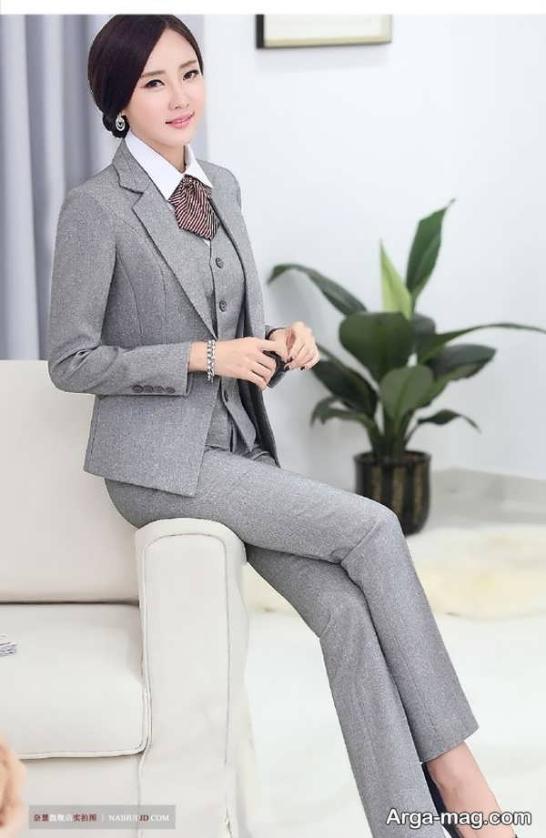 مدل شیک کت شلوار زنانه