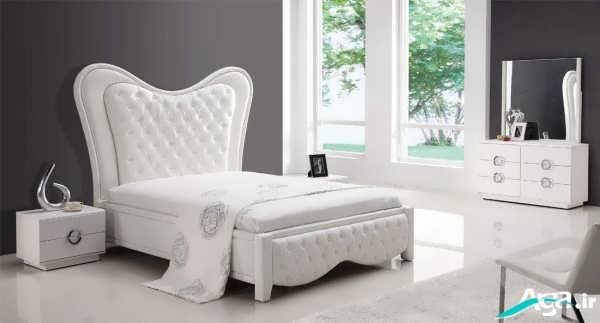 سرویس خواب سفید عروس