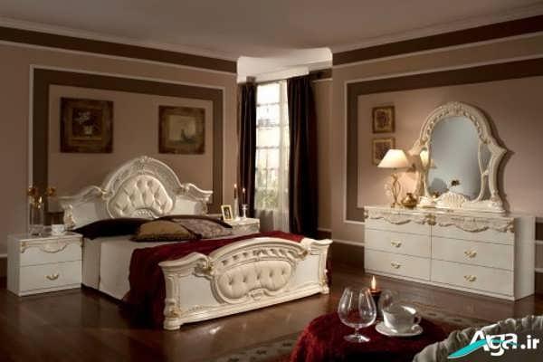تختخواب سفید عروس