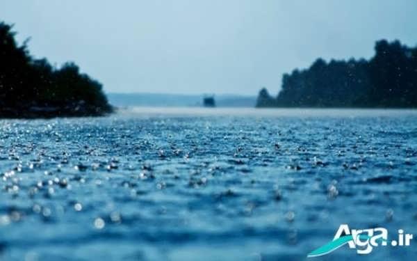 دریا و باران