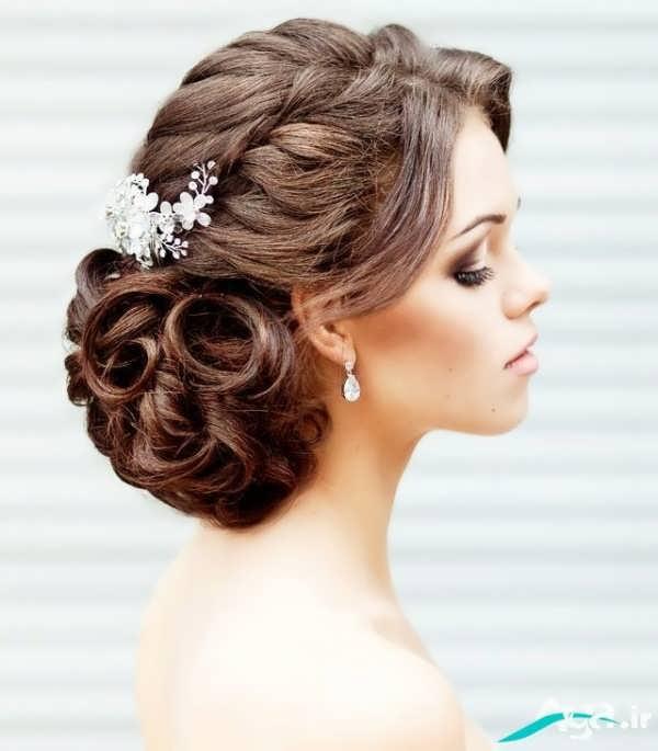 بهترین مدل موی آرایش عروس