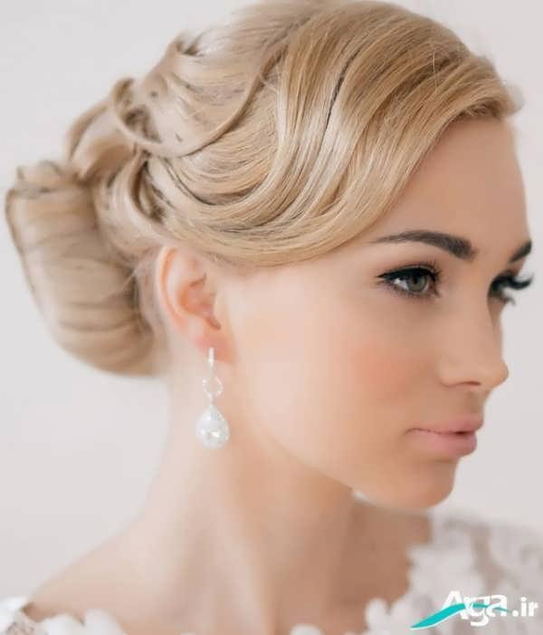 به روز ترین مدل آرایش موی عروس
