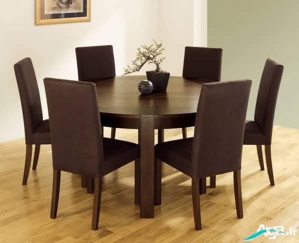 مدل میز ناهارخوری چوبی