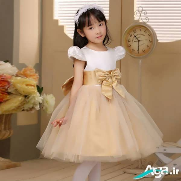 لباس عروس کرمی