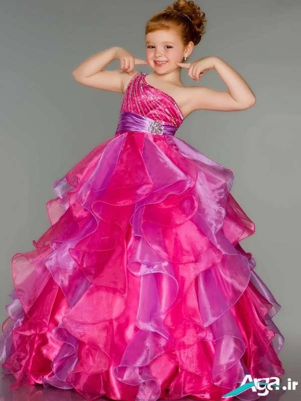 لباس عروس بچه گانه جذاب