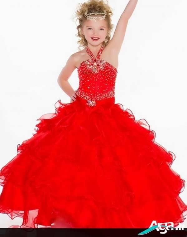 لباس عروس قرمز