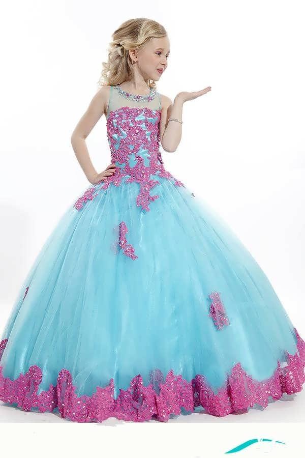 لباس عروس زیبا بچه گانه
