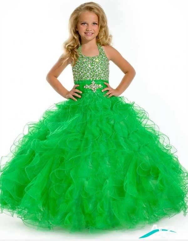لباس عروس سبز