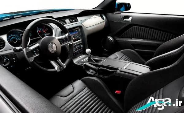 نمای داخلی ماشین فورد