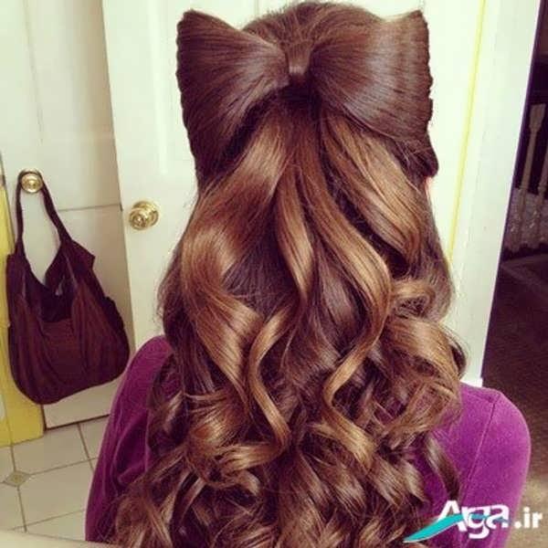 مدل مو باز زیبا