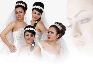 کامل ترین تصاویر از آرایش موی عروس مدرن