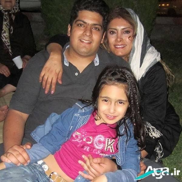 عکس خانوادگی لادن طباطبائی