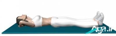 کشش عضلات ران