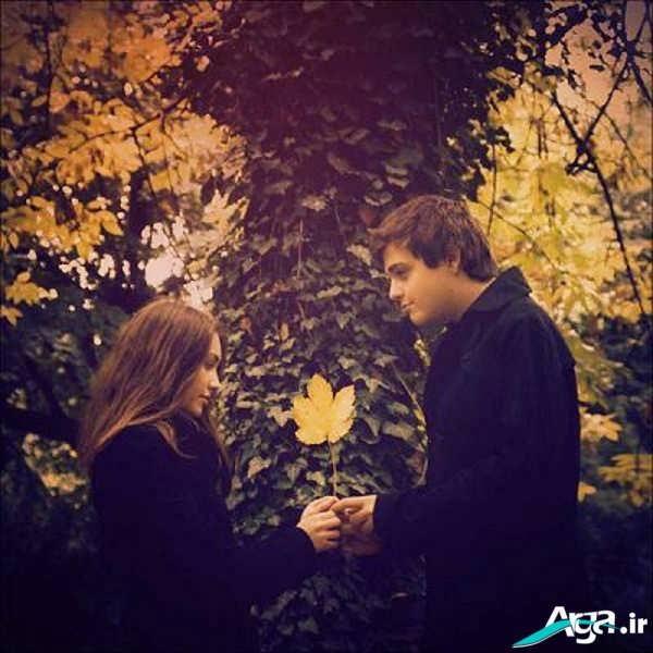 عکی دو نفره زیبا و رمانتیک