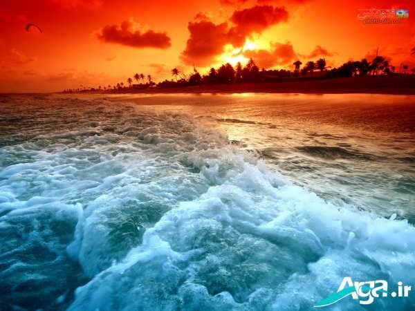 عکس دریا و امواج دریا