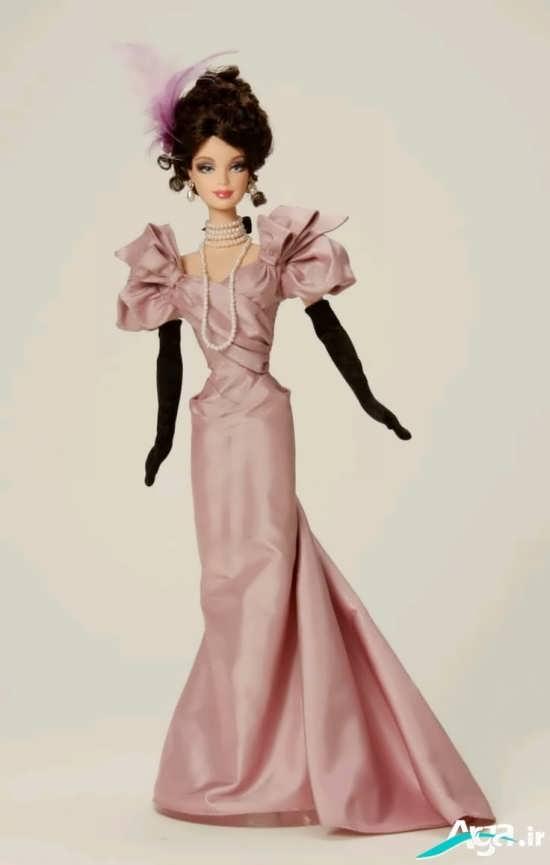 لباس عروسکی با طرح بلند