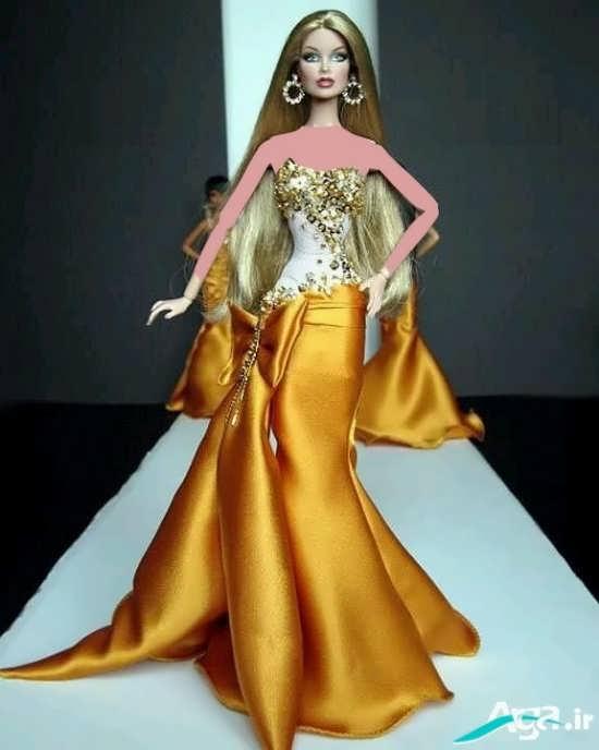مدل لباس عروسکی با طرحی متفاوت