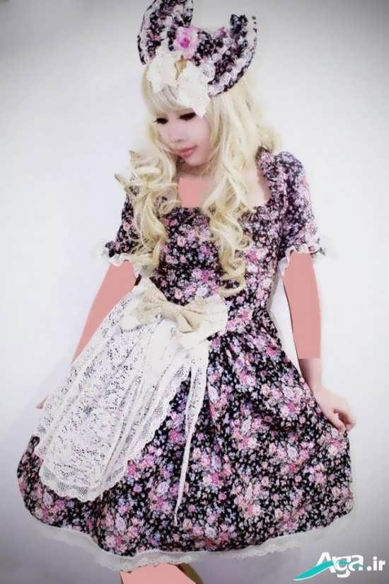 مدل لباس عروسکی دخترانه بسیار شیک