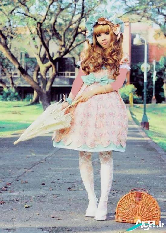 لباس عروسکی کوتاه
