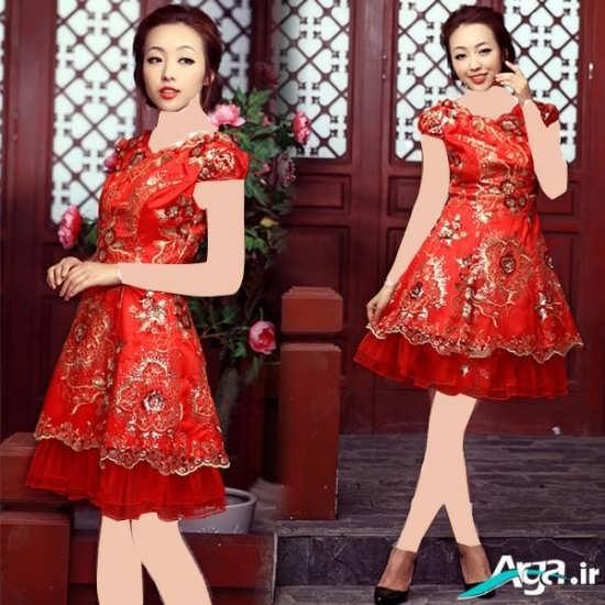 لباس عروسکی با طرحی متفاوت