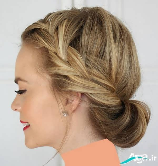 انواع مدل های آرایش ساده مو