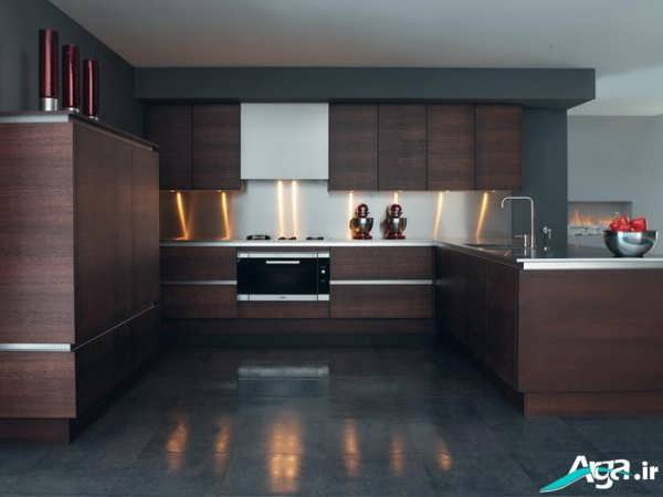 کابینت مدرن و شیک آشپزخانه