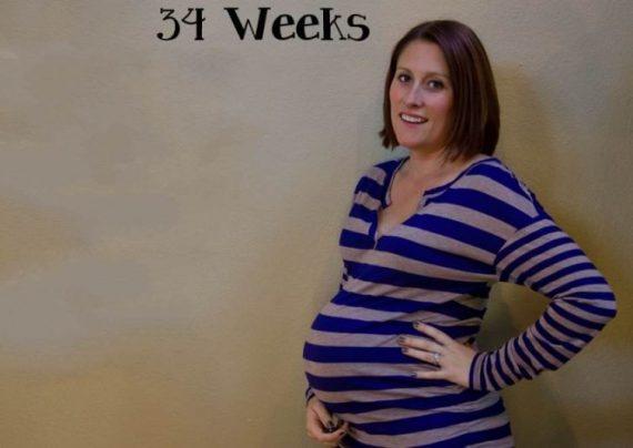 هفته 34 بارداری