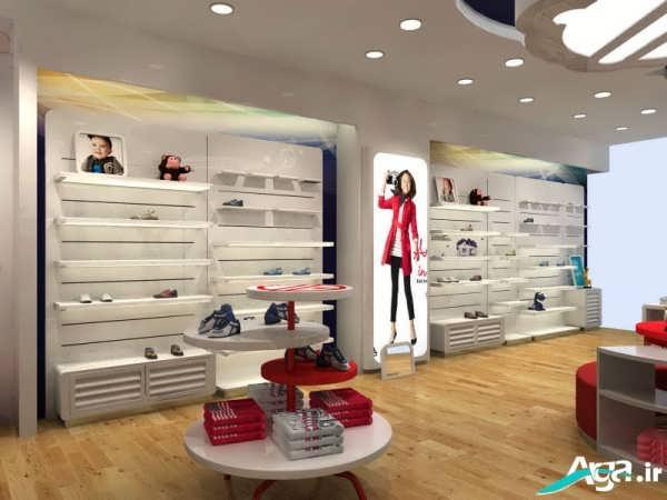 دکوراسیون داخلی فروشگاه پوشاک زنانه
