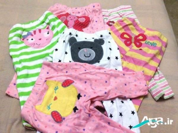 لباس های نوزاد دختر