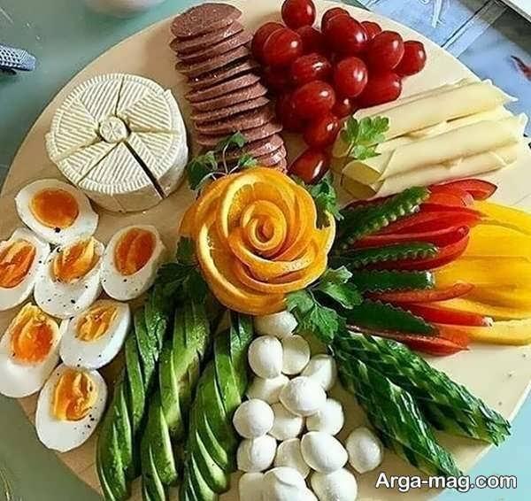 تصاویری از تزیینات صبحانه
