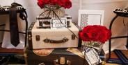 تزیین چمدان عروس