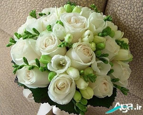دسته گل زیبا گل رز