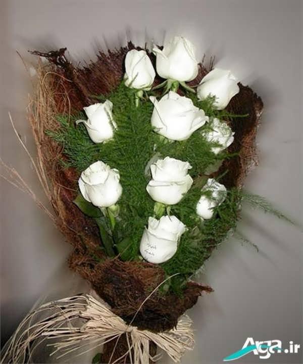 گل رز سفید خوشبو