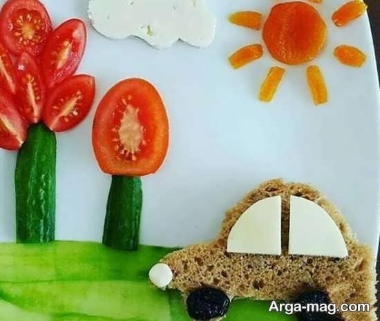 تزئینات غذای کودکان