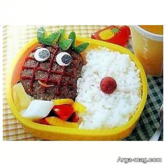 تزئین غذای بچه ها با ایده جالب و زیبا